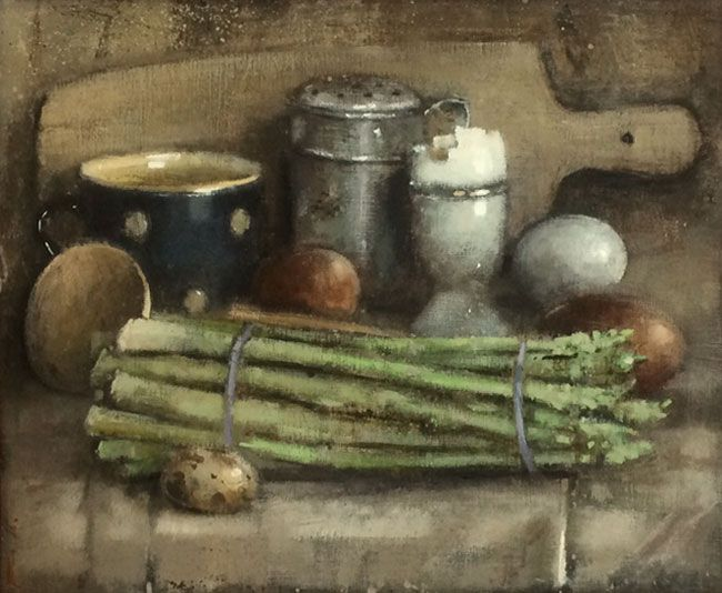 Andrew Douglas-Forbes, Asparagus With Eggs