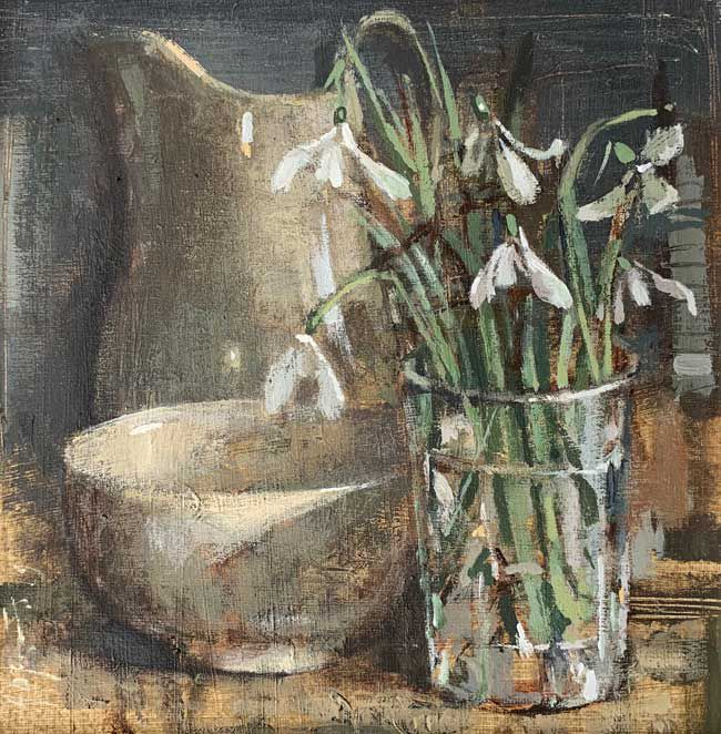 Andrew Douglas-Forbes, Liliwen Fach With A Welsh Tea Bowl
