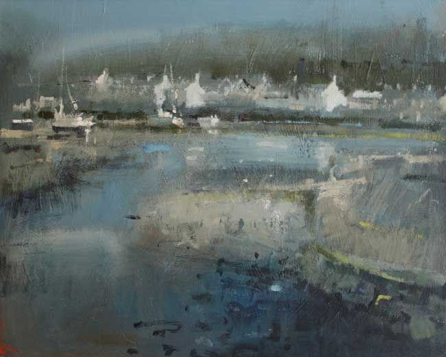 Andrew Douglas-Forbes, Low Tide Reflections, Lower Fishguard
