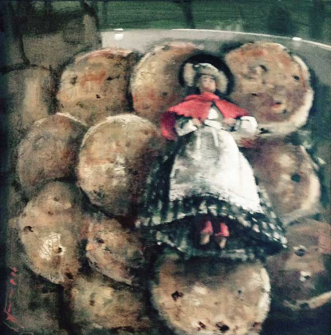 Andrew Douglas-Forbes, Peg Doll On Welsh Cakes