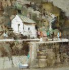 Andrew Douglas-Forbes, Porthgain On A Sunny Sunday 2