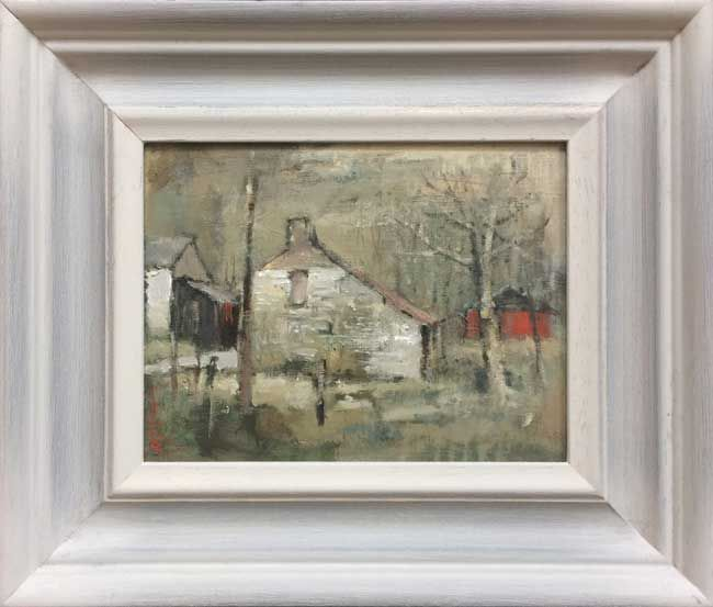 Andrew Douglas-Forbes, Snow Trying To Fall, Late Spring Llanwrda