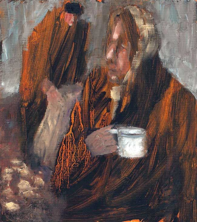 Mary Edwards, Tea Break