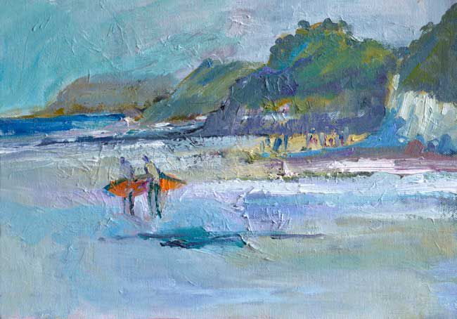 Alastair Elkes-Jones, Caswell Evening Joy