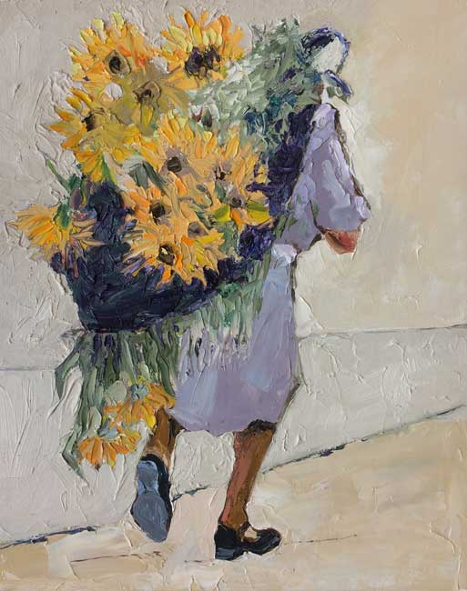 Alastair Elkes-Jones, Gathering Sunflowers