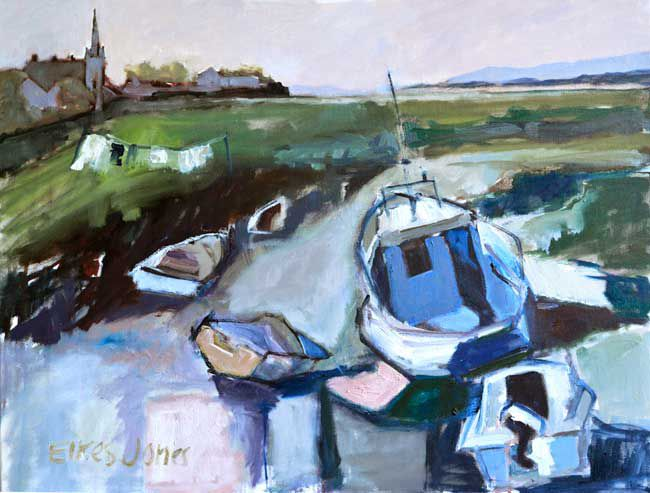 Alastair Elkes-Jones, Penclawdd, Low Tide