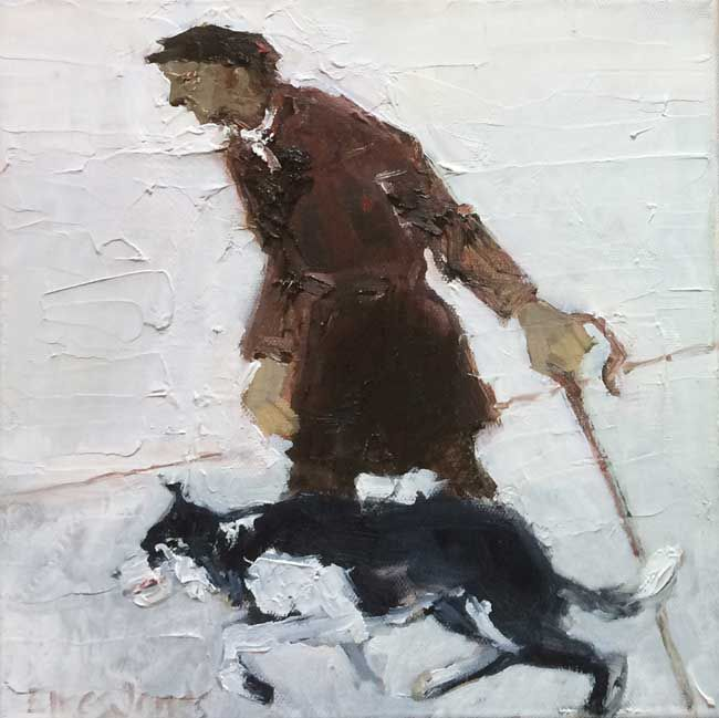 Alastair Elkes-Jones, Shepherd & Dog