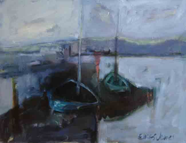Alastair Elkes-Jones, Swansea Bay From Mumbles
