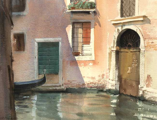 Michael Felmingham, The Two Doorways, Venice