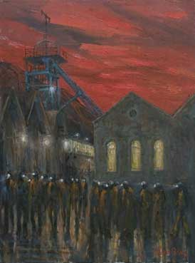 Valerie Ganz (1936-2015), Changing Shifts At Six Bells Colliery