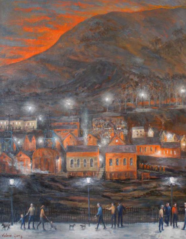 Valerie Ganz (1936-2015), Evening Parade Six Bells