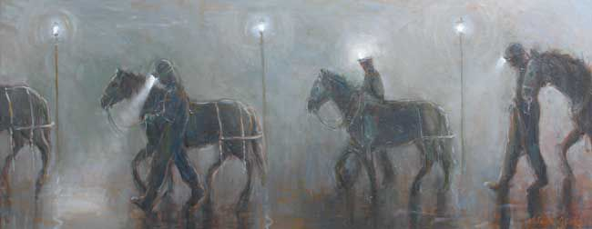 Valerie Ganz (1936-2015), Misty Night