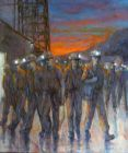 Valerie Ganz (1936-2015), Night Shift Over