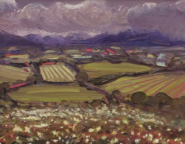 David Lloyd Griffith, Towards Snowdonia From Gwytherin