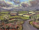 David Lloyd Griffith, Towards The Clwydians From Bylchau