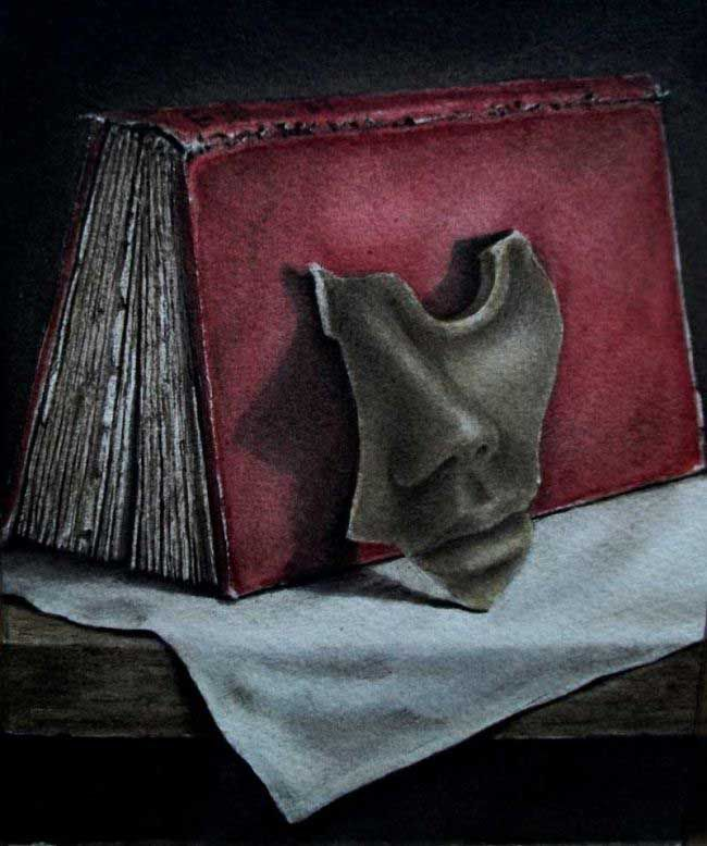 Steven Allan Griffiths RI, 'I learnt man's tongue, to twist the shapes of thoughts...'