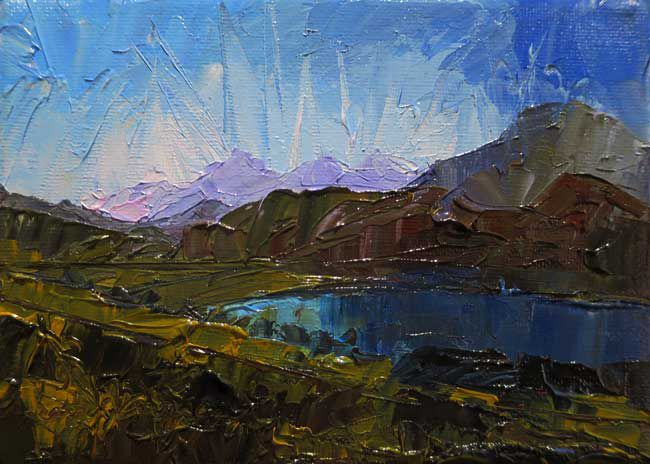 David Grosvenor, Llyn Cwellyn, Snowdonia