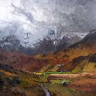 David Grosvenor, Nant Ffrancon Looking Towards The Glyders
