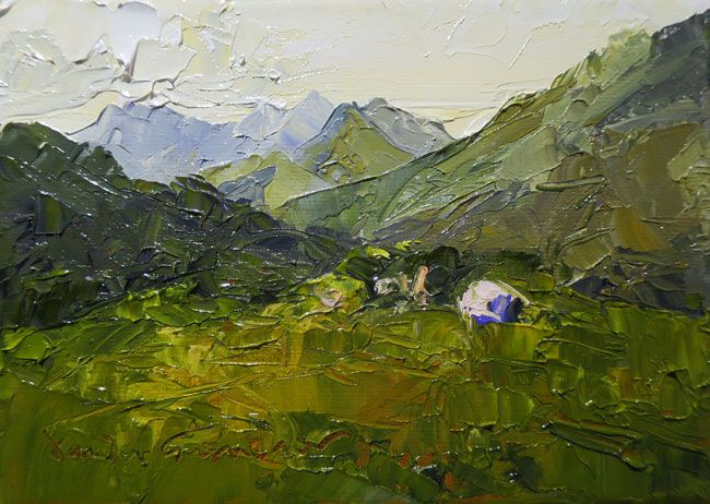 David Grosvenor, Snowdon From Capel Curig