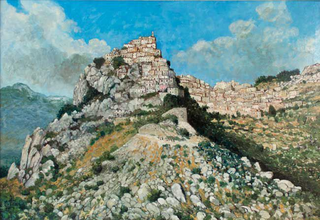 Christopher Hall (1930-2016), Cervara
