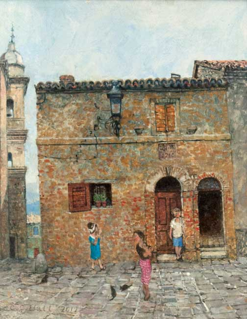 Christopher Hall (1930-2016), Morrovalle