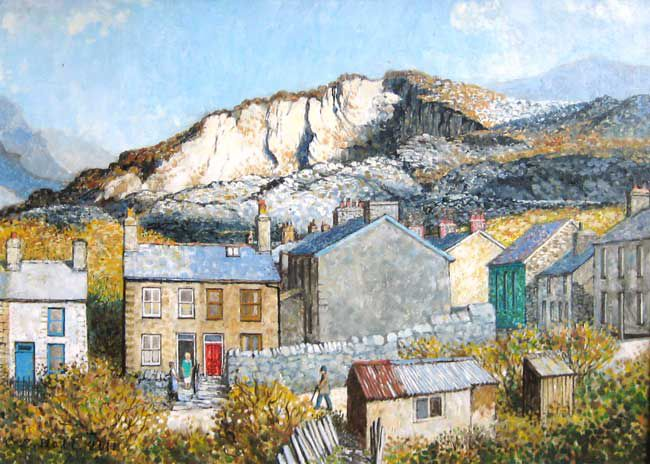 Christopher Hall (1930-2016), Spring Evening At Corris