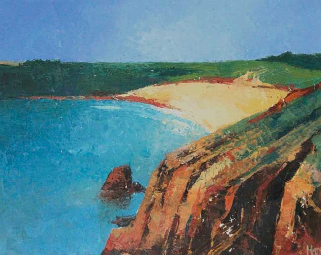 Robert Harrison, Barafundle Bay