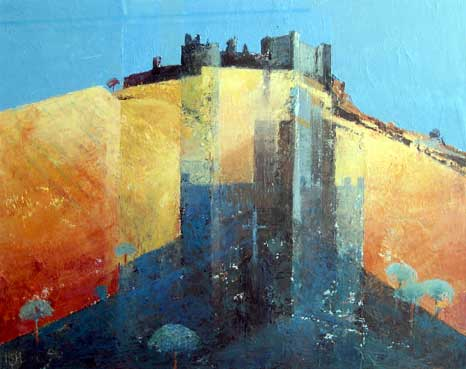 Robert Harrison, Carreg Cennen Castle