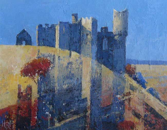 Robert Harrison, Weobley Castle