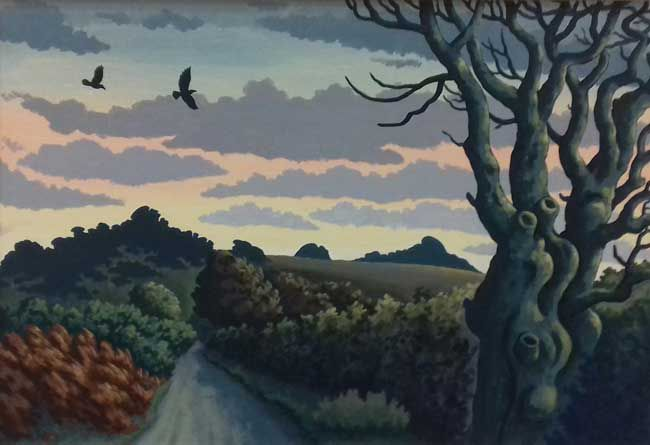 Richard Hill, The Road To Hound Tor