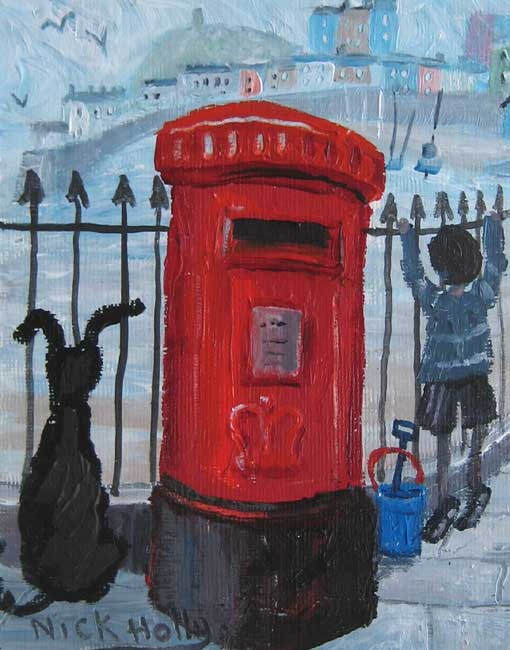 Nick Holly, A Tenby Postbox
