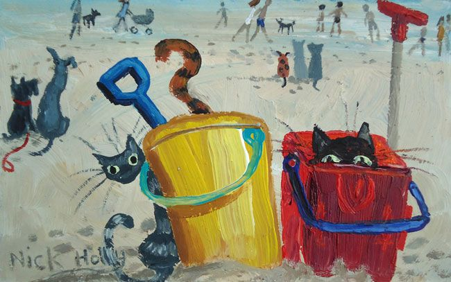 Nick Holly, Buckets & Spades, Swansea Bay