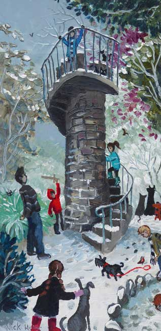 Nick Holly, Clyne Folly, Swansea
