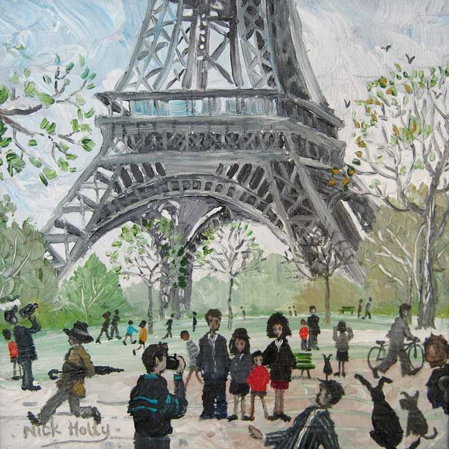 Nick Holly, Family Photograph - Eiffel Tower