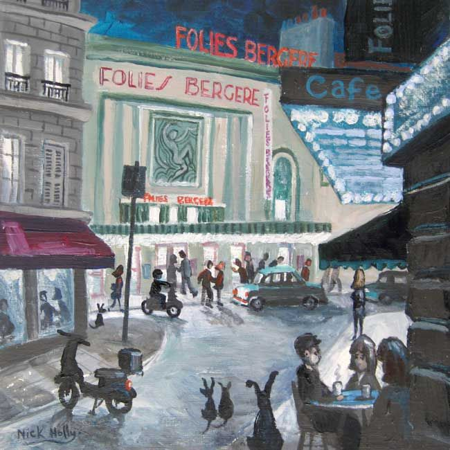 Nick Holly, Folies Bergere - Montmartre