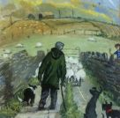 Nick Holly, Moving The Lambs, Breconshire