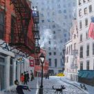 Nick Holly, Old Cobbled Street (Financial District)