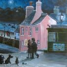 Nick Holly, Pink Cottage - Tenby Harbour