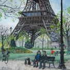 Nick Holly, Resting Beneath The Eiffel Tower