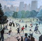 Nick Holly, Sheep Meadow - Summertime Central Park