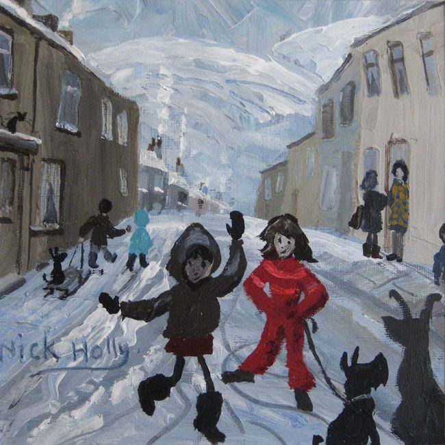 Nick Holly, Slippery Street, South Wales