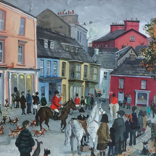 Nick Holly, The Hunt - King Street, Llandeilo