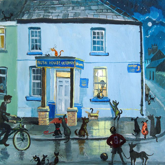 Nick Holly, Waiting At The Vets, Llandeilo