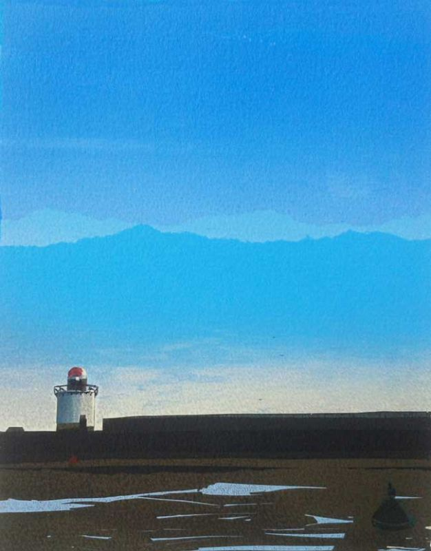 Sarah Hopkins, Burry Port Lighthouse (unframed)