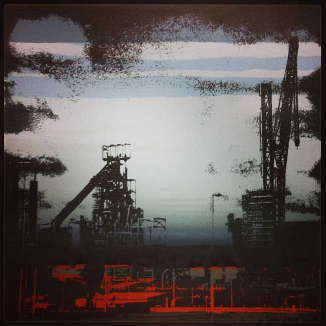 Sarah Hopkins, Port Talbot 3 (Collaboration with Tracey Moberly)
