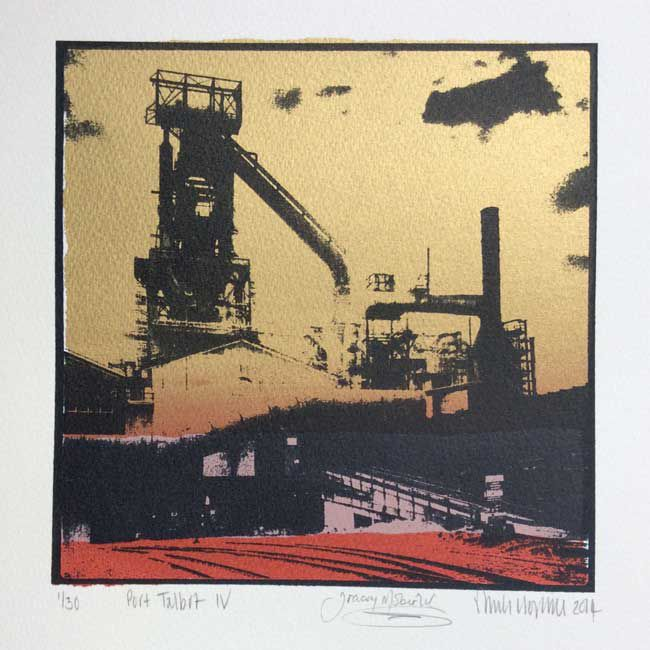 Sarah Hopkins, Port Talbot IV (collaboration with Tracey Moberly)