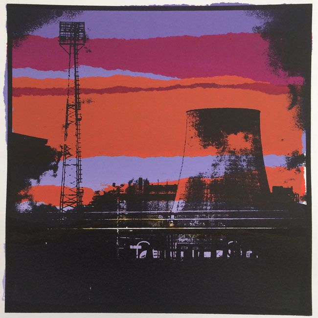 Sarah Hopkins, Port Talbot IX (unframed)