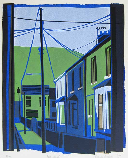 Sarah Hopkins, Port Talbot (unframed)
