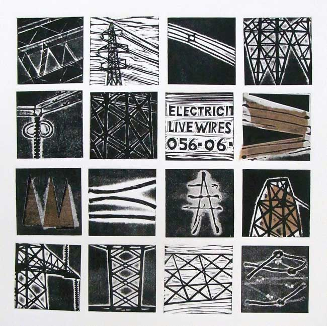 Sarah Hopkins, Pylons (unframed)
