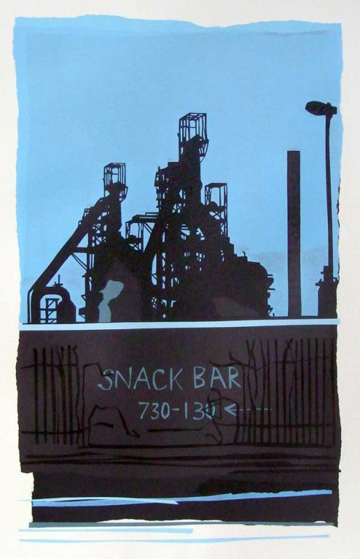 Sarah Hopkins, Snack Bar (unframed)